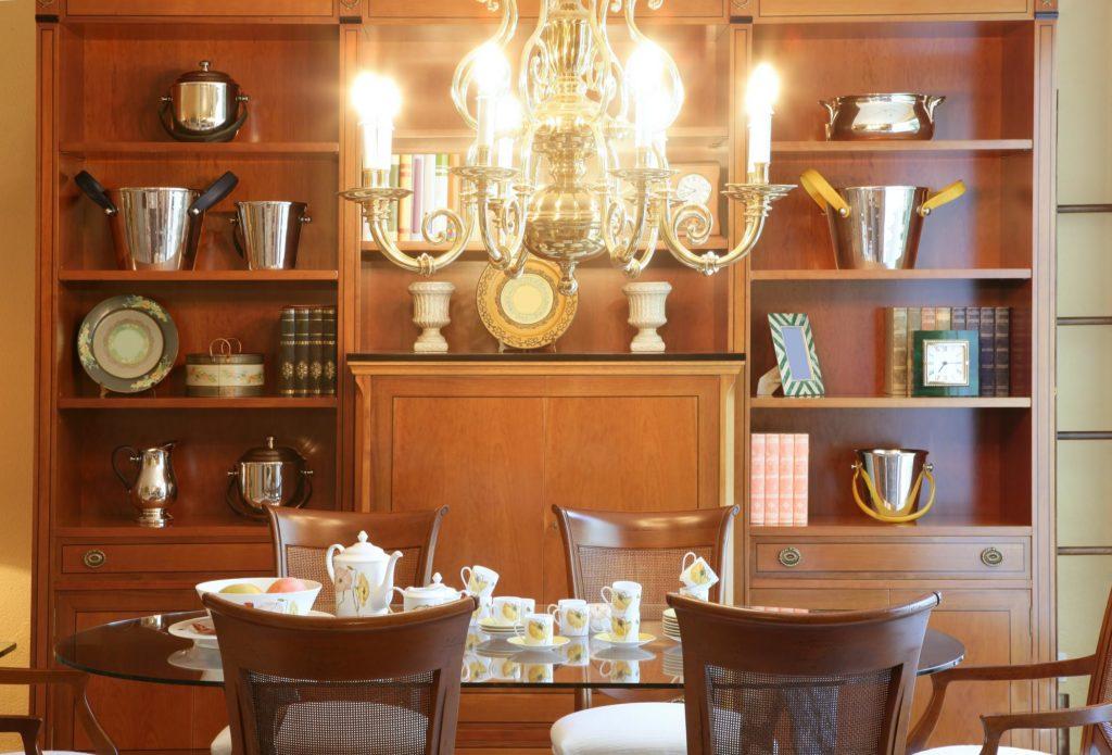 beautiful custom office cabinets