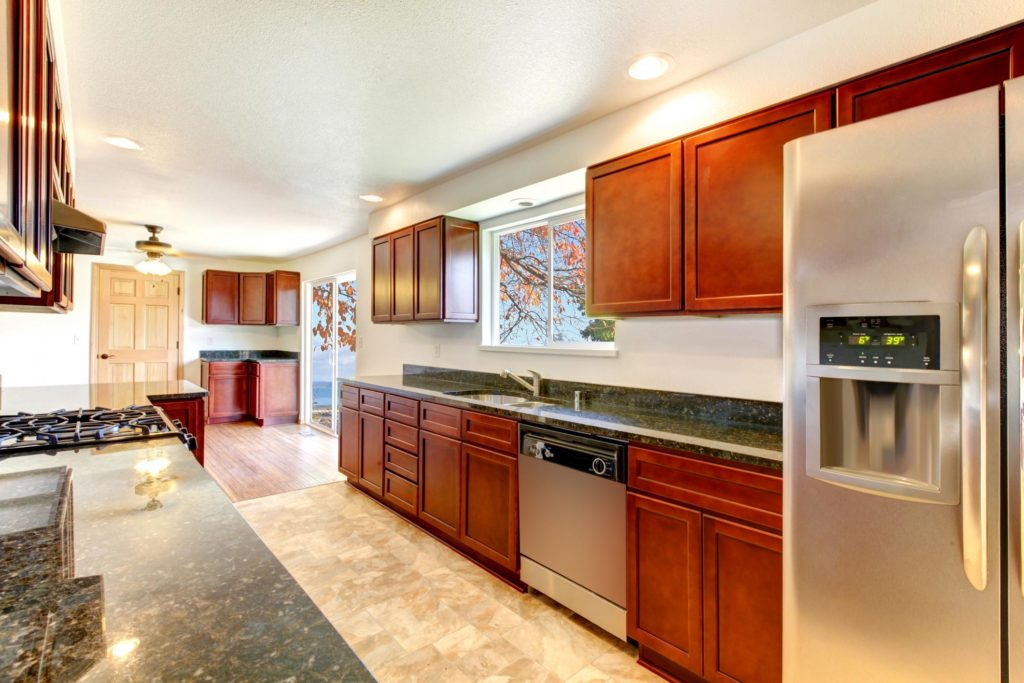 custom cabinetry kitchen completed